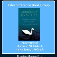 Abundant Simplicity ~ Phone-in Book Group