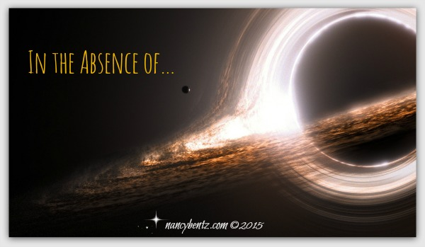 In the Absence of …