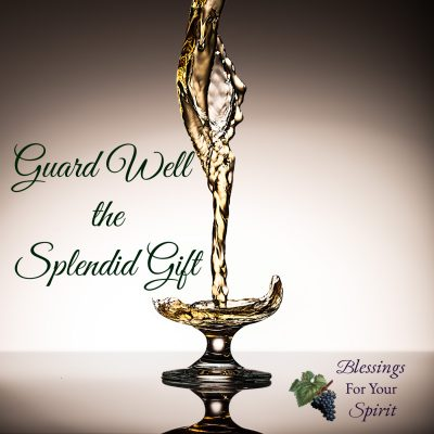 Guard Well the Splendid Gift