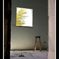 Dusty Barn window cutout II