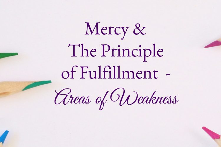 Mercy's Areas of Weakness