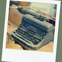 Old Remington typewriter II