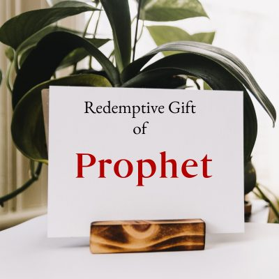 Redemptive Gift of Prophet – Checklist