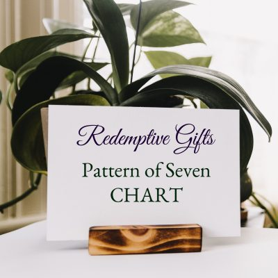 Chart of Pattern of Seven in Scripture