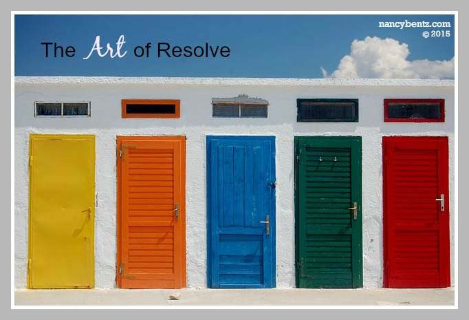 The Art of Resolve