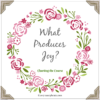 What Produces Joy?